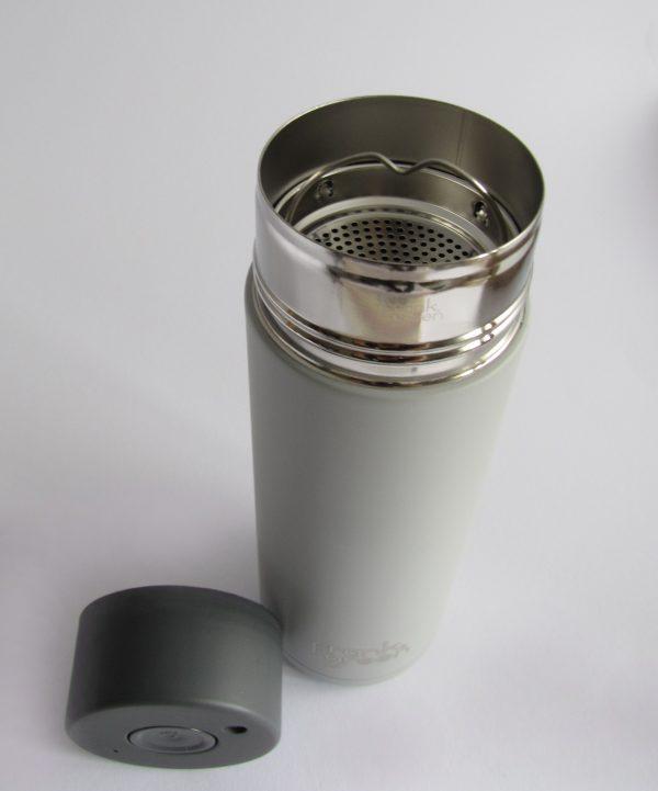 frank green Thermosflasche grau stehend