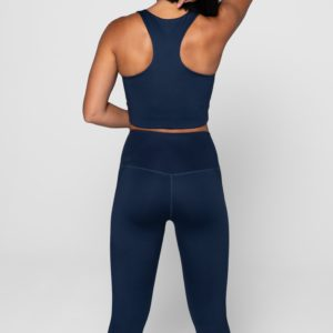 Girlfriend Collective Leggings Midnight Back