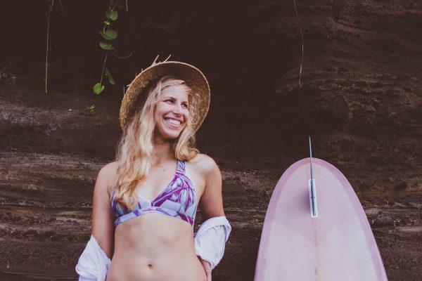 Zealous Clothing - Signature V Surfbikinioberteil jungle jam lifestyle