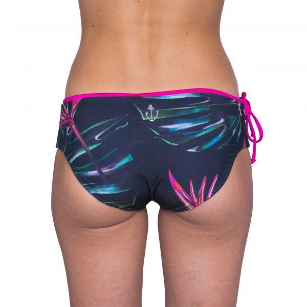 Zealous Clothing Surfbikinihose pink paradise hinten