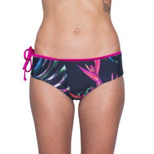Zealous Clothing Surfbikinihose pink paradise vorne
