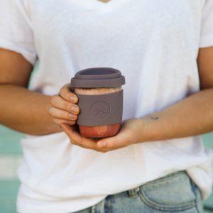 SolCup Kaffeebecher aus Glas
