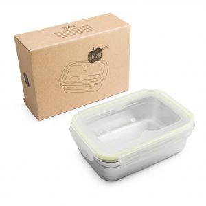 Brotzeit Lunchbox klick Edelstahl 1500ml