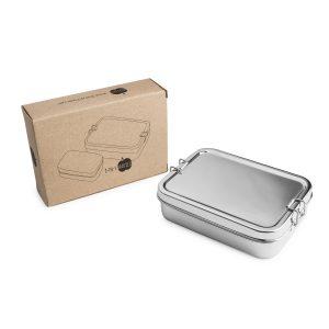 Lunchbox 2in1 Edelstahl