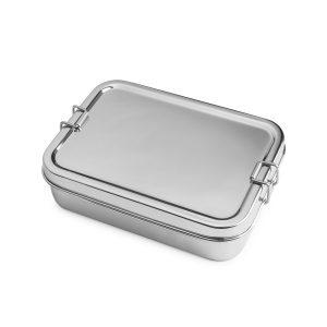 Lunchbox Edelstahl 2in1