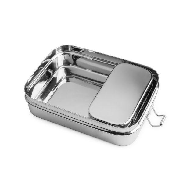 Lunchbox Edelstahl kleine Dose in großer
