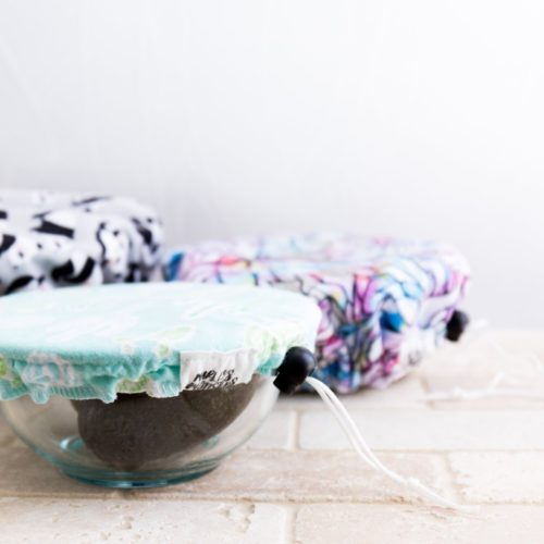 Wiederverwendtbare und waschbare Abdeckungen für Schüssel und Teller
