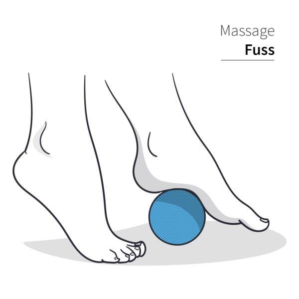 Cocomind Massageball (7cm) aus Kork