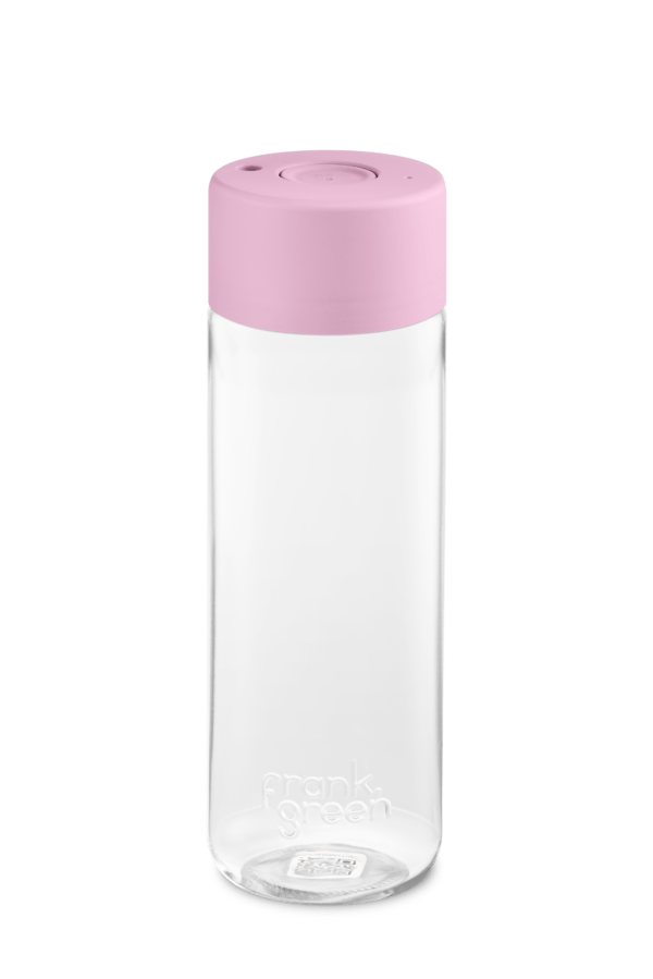 frank green Trinkflasche pink