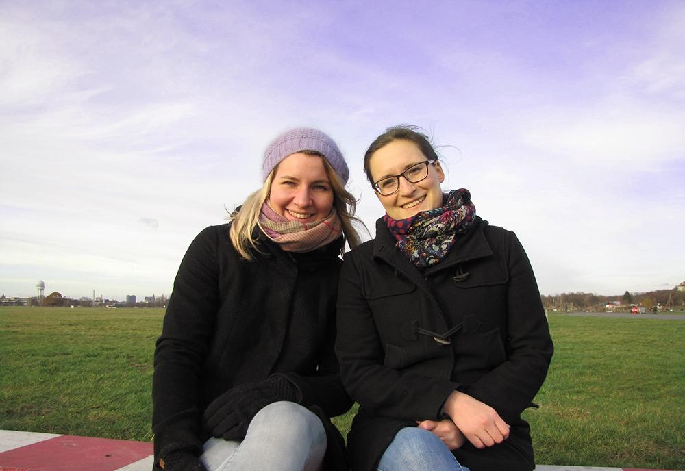 Franziska und Kerstin, die Gründerinnen von Pangolino