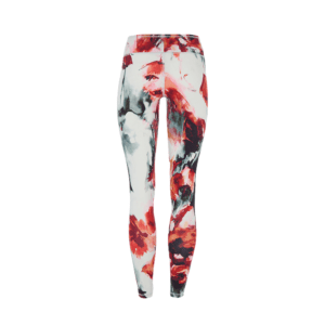 Mandala Yoga Leggings Red Poppy