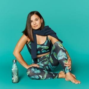 Mandala Legging in jungle leaf