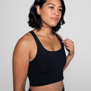 Girlfriend Collective Paloma Sportsbra schwarz