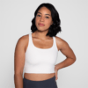 Girlfriend Collective Paloma Sports Bra ivory