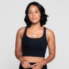 Girlfriend Collective Paloma Sports Bra black