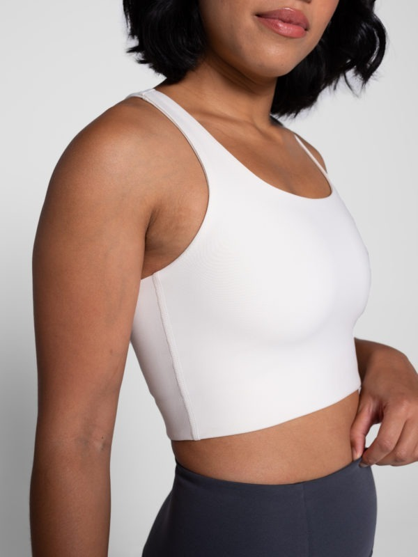 Girlfriend Collective Paloma Sportsbra ivory