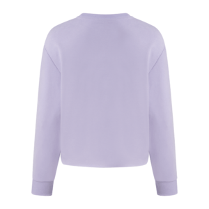 Cropped Sweater Lilac